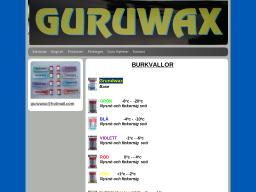 guruwax.dinstudio.se