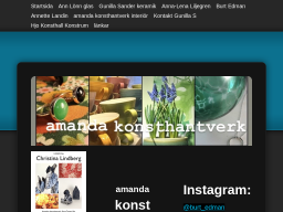 www.amandakonsthantverk.se