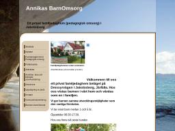 www.annikasbarnomsorg.se