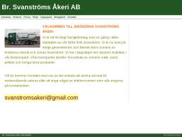 www.brodernasvanstromakeriab.se