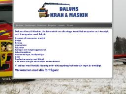 www.dalumskranomaskin.se