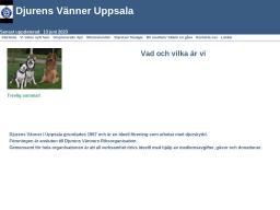 www.djurensvanneruppsala.se