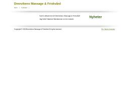 www.drevvikensmassage.se