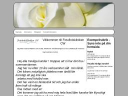 www.fotvardsklinikencw.se