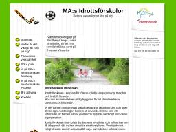 www.idrottsforskolan.se
