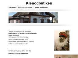 www.klenodbutiken.se