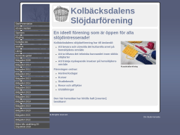 www.kolbacksdalens-slojdarforening.se