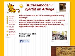 www.kuriosabodeniarboga.se