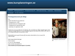 www.kursplaneringen.se