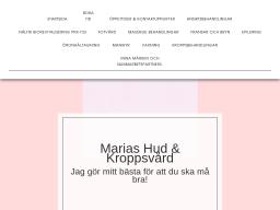 www.mariashud.se