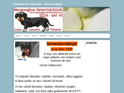 www.morgongavaveterinarklinik.se