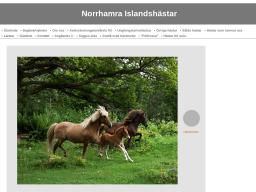 www.norrhamraislandshastar.se