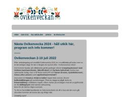 www.ovikenveckan.se