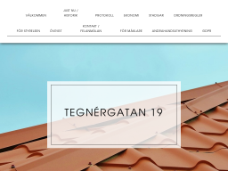 www.tegnergatan19.se