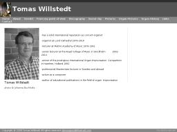 www.tomaswillstedt.com