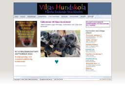 www.viljashundskola.se